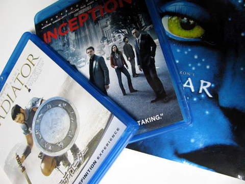 DVDとブルーレイで映画を見比べてみた