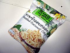 「ローストココナッツチップ」88円(税別)
