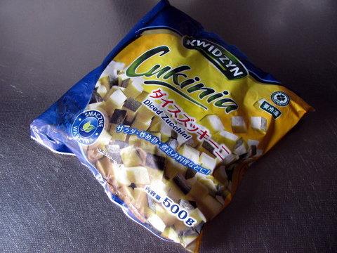 業務スーパーの「冷凍ダイスズッキーニ」95円