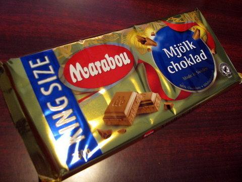 IKEAで売ってた「MARABOUミルクチョコレート250g」