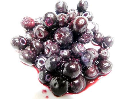 「チリ産 デューク種使用 ブルーベリー Blueberry」解凍