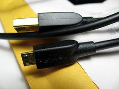 Amazonベーシック USB2.0ケーブル 1.8m (タイプAオス-マイクロBオス)