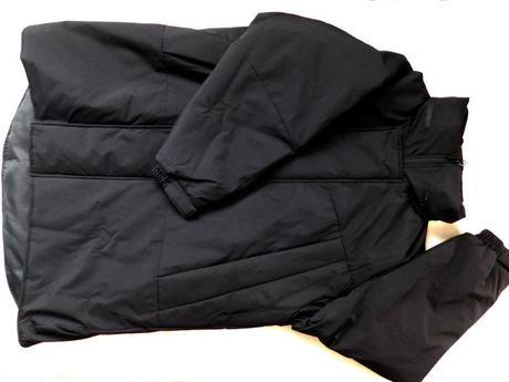 GU ウィンドプルーフ中綿ビッグコート