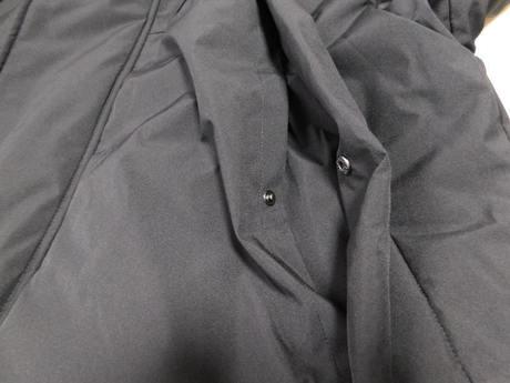 ウィンドプルーフ中綿ビッグコート ポケット