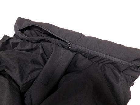 ウィンドプルーフ中綿ビッグコート 襟