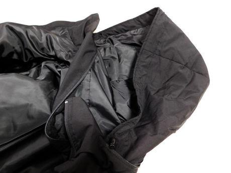 ウィンドプルーフ中綿ビッグコート フード