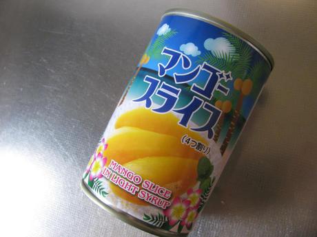 マンゴースライス(4つ割り)缶詰