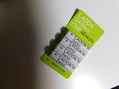 IKEA LADDA 2450